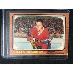 1966 Topps Hockey #4 Gilles Tremblay