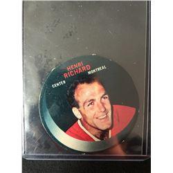 1970 HENRI RICHARD DISC CARD