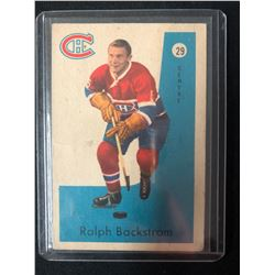 1959-60 Parkhurst Montreal Canadiens Hockey Card #29 Ralph Backstrom