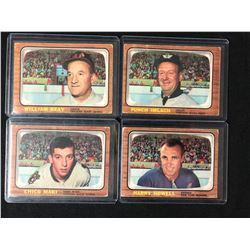 1966-67 TOPPS HOCKEY CARD LOT