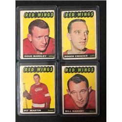 1965 TOPPS HOCKEY CARD LOT