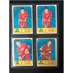 1967-68 TOPPS HOCKEY CARD LOT