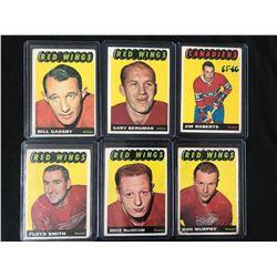 1965-66 TOPPS HOCKEY CARD LOT