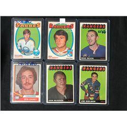 1960-70'S HOCKEY CARD LOT