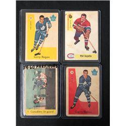 1950-60'S HOCKEY CARD LOT