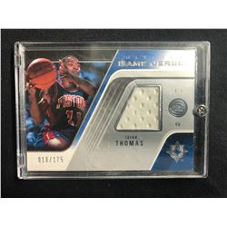 2004-05 Ultimate Collection Game Jersey UGJ-IT Isiah Thomas Detroit Pistons Card