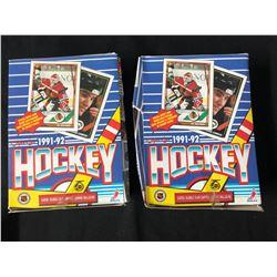 1991-92 O-PEE-CHEE HOCKEY CARD BOX LOT