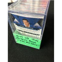 2018-19 UPPER DECK TIM HORTON'S HOCKEY BASE & NHL ALL-STAR CARDS