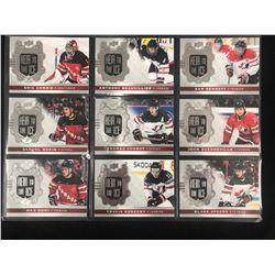2017-18 UPPER DECK HEIR TO THE ICE TEAM CANADA HOCKEY CARD LOT