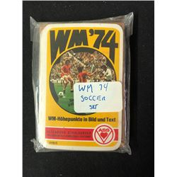 WM '74 SOCCER CARD SET
