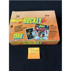 1988 O-PEE-CHEE HOCKEY YEARBOOK STICKERS (MINT - UNOPENED BOX)