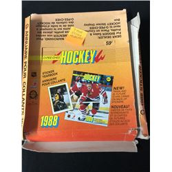 1988 O-PEE-CHEE HOCKEY YEARBOOK STICKERS (7 MINT STICKER ALBUMS)
