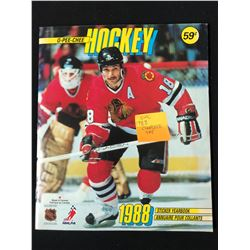 1988 O-PEE-CHEE HOCKEY STICKER YEARBOOK COMPLETE SET