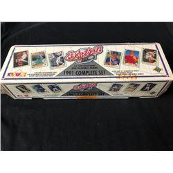 1991 UPPER DECK 3D HOLOGRAMS & BASEBALL CARDS COMPLETE SET
