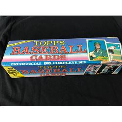 1989 TOPPS BASEBALL CARDS THE OFFICIAL COMPLETE SET