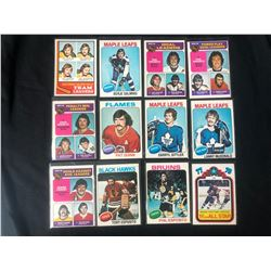 1970'S HOCKEY CARD LOT