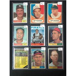 1950-60'S BASEBALL CARD LOT