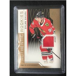 2018-19 UD SP Game Used Authentic Rookies Dylan Sikura Chicago Blackhawks