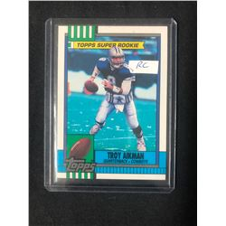 1990 Topps Football #482 Troy Aikman Rookie