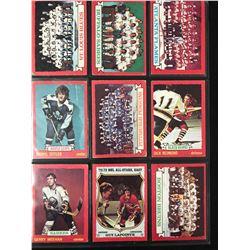 1973-74 O-PEE-CHEE HOCKEY CARD LOT