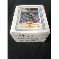1990-91 FLEER BASKETBALL CARDS (ROOKIES- DIVAC/ HARDAWAY/ RICE...)