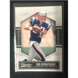 2010 Classics #182 Rob Gronkowski New England Patriots RC Rookie Football Card