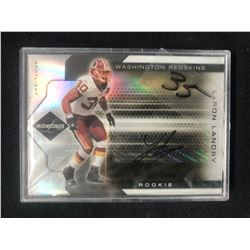 2007 Leaf Limited 333 LaRon Landry Washington Redskins Auto Rookie Football Card