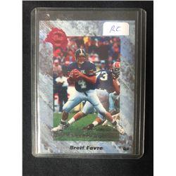 BRETT FAVRE 1991 ATLANTA FALCONS CLASSIC DRAFT PICKS ROOKIE CARD #129