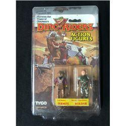 Tyco Dino Riders Evil Rulon Termite Heroic Boldar 2 Pack Action Figures 1987