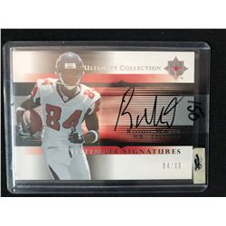 2005 Ultimate Collection Signatures #US-WH Roddy White Atlanta Falcons Auto Card