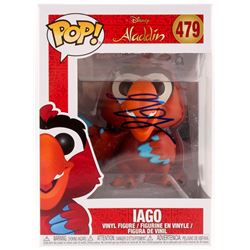 "Gilbert Gottfried Signed ""Iago"" #479 Aladdin Funko Pop! Vinyl Figure (JSA COA)"