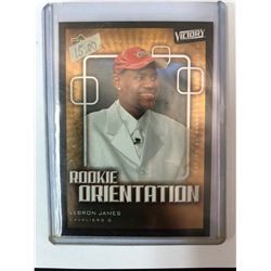 2003-04 Upper Deck Victory LeBron James RC Rookie Orientation #101