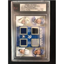 ULTIMATE 11TH EDITION FALL EXPO REDEMPTION CARD SILVER KESLER/ SEDIN/ LUONGO/ SEDIN (13/25)