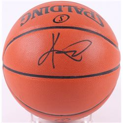 Kyrie Irving Signed Spalding NBA Basketball (JSA COA)