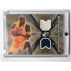 2006-07 SPx Winning Materials #WMKB Kobe Bryant Lakers Dual Jersey