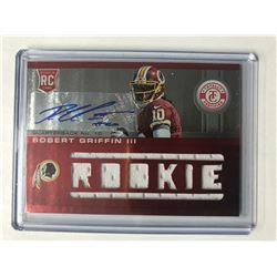 2012 Panini Totally Certified Robert Griffin III RC #226 Autographed Jersey (063/199)