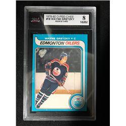 1979-80 O-Pee-Chee #18 Wayne Gretzky Rookie Card (8 NMM)