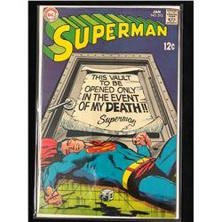 SUPERMAN #213 (DC COMICS)