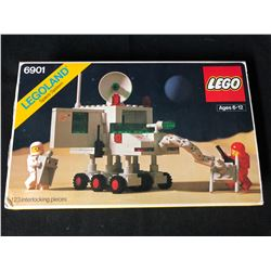 Vintage 1980 LEGO 6901 Mobile Lab Instruction Book Space