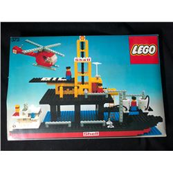 LEGO 373 Offshore Rig With Fuel Tanker