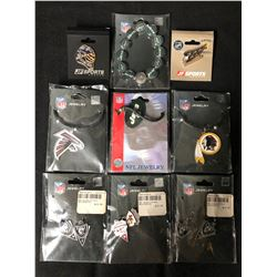 NFL JEWELRY LOT (BRAND NEW)
