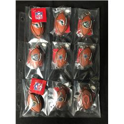 NFL KEYCHAIN LOT (BRAND NEW)