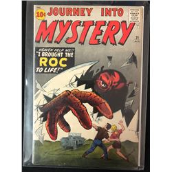 "JOURNEY INTO MYSTERY #71 ""I Brought the Roc to Life""! (Marvel Comics)"