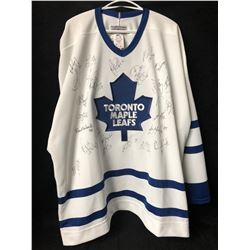 TORONTO MAPLE LEAFS TEAM SIGNED HOCKEY JERSEY (1995-96 SEASON)