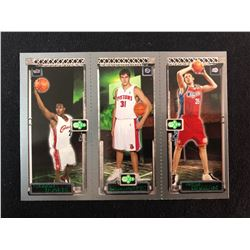 Kaman / Milicic / James - 2003-04 Topps Rookie Matrix #JMK