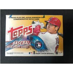 2018 Topps Baseball UPDATE Series MLB Cards Blaster Box   1-J.R. Patch Card
