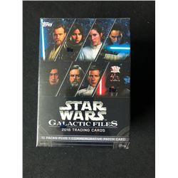 2018 TRADING CARDS STAR WARS GALACTIC FILES