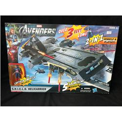 THE AVENGERS S.H.I.E.L.D. HELICARRIER 2-IN-1 VEHICLE & PLAYSET