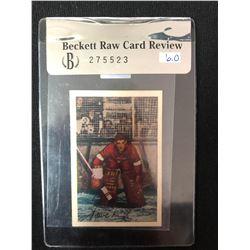 1952 Parkhurst Terry Sawchuck #86 (BECKETT CARD REVIEW 275523) GRADED 6
