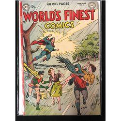 WORLD'S FINEST COMICS #65 (DC COMICS)